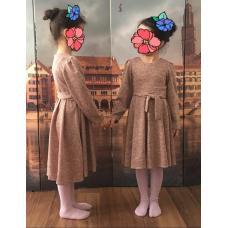 Платье из ангоры